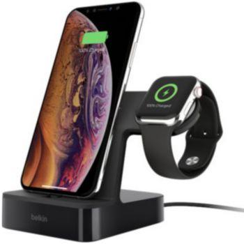 station de chargement belkin powerhouse pour iphone et apple watch