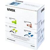 Bouchons anti-bruit Uvex Bouchons d'Oreille Hi com Beige à Usage