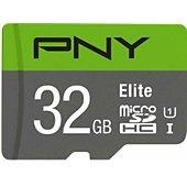 Carte Micro SD PNY microSDHC Elite 32Go + Adaptateur SD