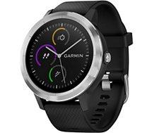 Montre sport GPS Garmin Vivoactive 3 silver/noir