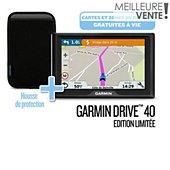 GPS Garmin Drive 40 SE LM + housse + ZDD à vie