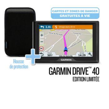 Garmin Drive 40 SE LM + housse + ZDD à vie