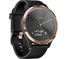 Bracelet connecté Garmin  Vivomove HR Black-Rose Gold