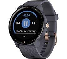 Montre sport GPS Garmin  Vivoactive 3 music bleu granit et rose