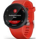 Montre sport GPS Garmin  Forerunner 45 L Rouge
