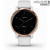Montre sport Garmin VIVOACTIVE 4S 40mm WHITE/ROSE GOLD