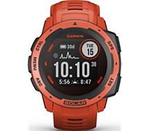 Montre sport Garmin  Instinct Solar Flame Red