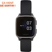 Montre sport Garmin Venu SQ Music noir