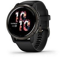 Montre sport Garmin  Venu 2 Grey avec bracelet noir