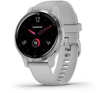 Montre sport Garmin  Venu 2S Silver avec bracelet gris clair