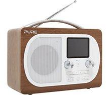 Radio numérique Pure Evoke H4 Walnut