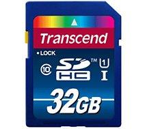 Carte SD Transcend 32Go SDHC Class10 UHS-I