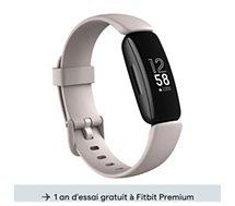 Bracelet connecté Fitbit  Inspire 2 Blanc Lunaire