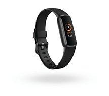 Bracelet connecté Fitbit  Luxe noir