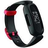 Bracelet connecté Fitbit  Ace 3 noir et rouge sport