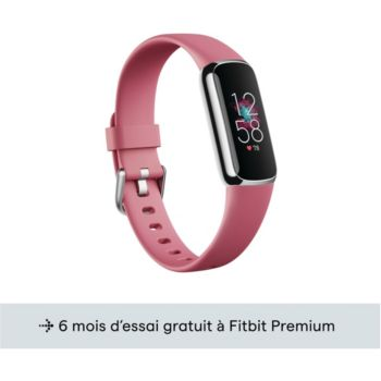 Fitbit Luxe platine orchidee