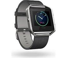 Bracelet Fitbit  CUIR BLAZE NOIR S