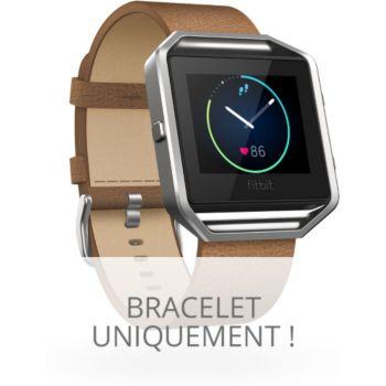 Fitbit CUIR BLAZE CAMEL L