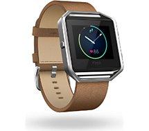 Bracelet Fitbit  CUIR BLAZE CAMEL L