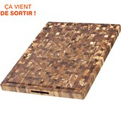 Planche à découper Wismer a decouper Billot rectangle 61x45.7