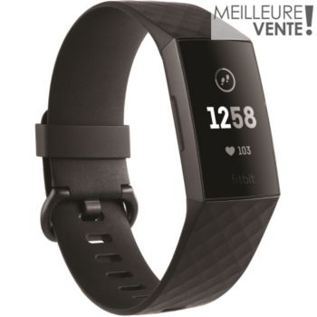 Fitbit Charge 3 Graphique Black