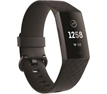 Bracelet connecté Fitbit Charge 3 Graphique Black