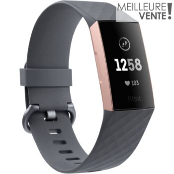 Fitbit Charge 3 Rose Gold / Blue Grey
