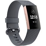 Bracelet connecté Fitbit  Charge 3 Rose Gold / Blue Grey