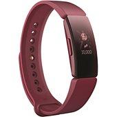 Bracelet connecté Fitbit Inspire Sangria