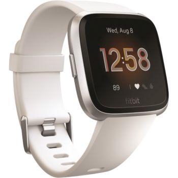 Fitbit Versa lite argent et blanc