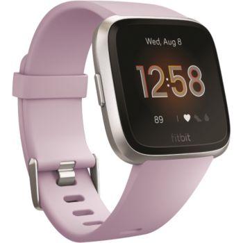 Fitbit Versa lite argent et lilas
