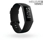 Bracelet connecté Fitbit CHARGE 4 NOIR