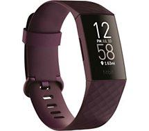 Bracelet connecté Fitbit  CHARGE 4 BOIS DE ROSE