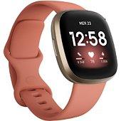 Montre sport Fitbit Versa 3 Or et Argile