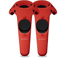 Protection manette Hyperkin 2 Housses Silicone Manette HTC VIVE Rou