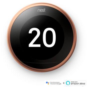 Nest Learning 3ème génération Cuivre