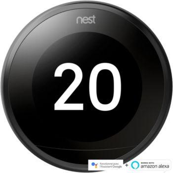Nest Learning 3ème génération Noir