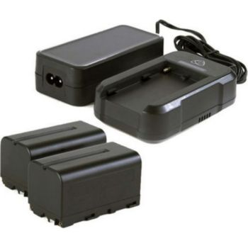 Atomos Power kit - chargeur + 2 batteries pour