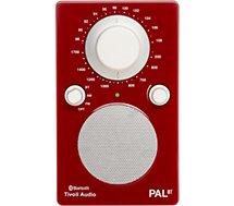 Radio analogique Tivoli PAL rouge
