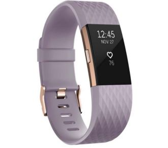 Fitbit Charge 2 Lavender Gold L