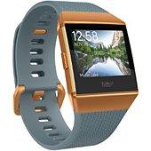 Montre sport GPS Fitbit Ionic orange métallisé / bleu ardoise