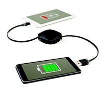 Câble USB C Retrak Micro USB / USB 2 en 1