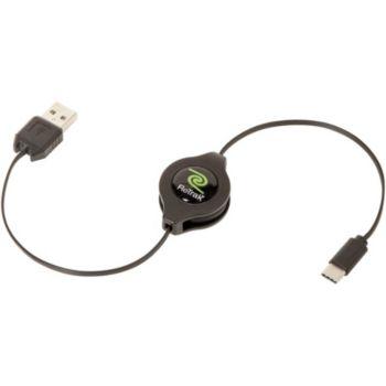 Retrak USB C / USB A   Noir