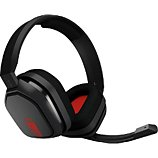Casque gamer Astro  A10 Gris/Rouge