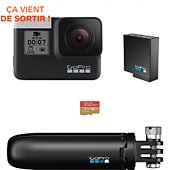 Caméra sport Gopro Hero 7 Black Pack Holiday