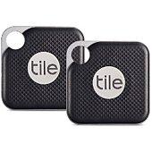 Porte clé connecté Tile Pro Black (2 pces)