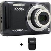 Appareil photo Compact Kodak X53 noir + Etui