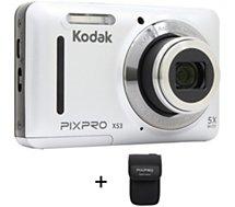 Appareil photo Compact Kodak X53 Silver + Etui