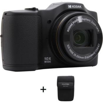 Kodak FZ102 Noir + Etui