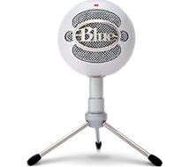 Micro gamer Blue Microphones Snowball iCE Blanc